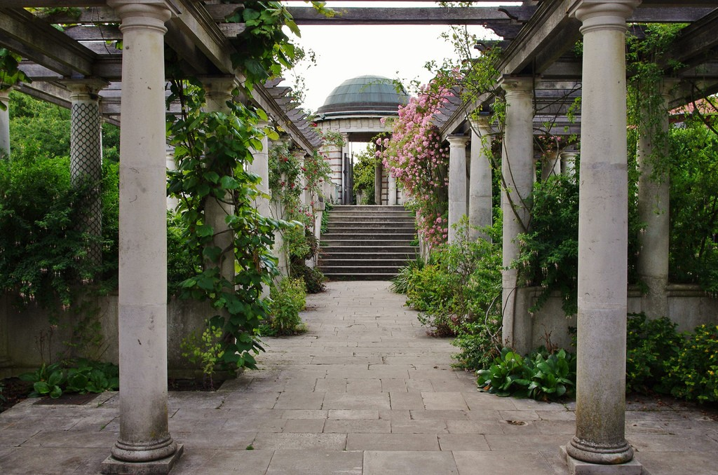 Hill House pergola by David Fisher, on Flickr