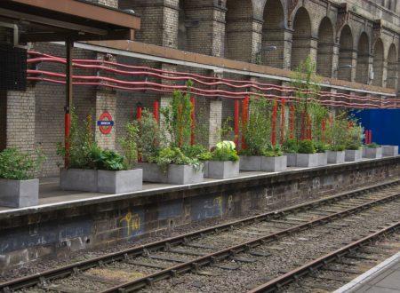 Barbican: un giardino pop-up sul binario abbandonato
