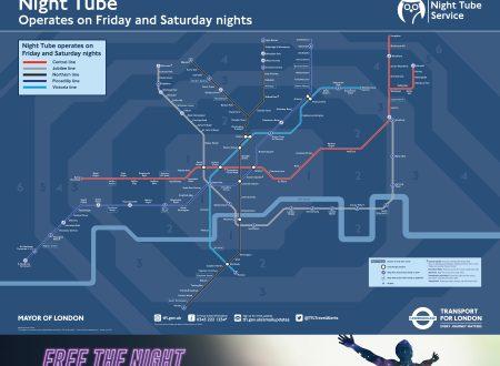 Dal 12 settembre Night Tube tutti i wekeend