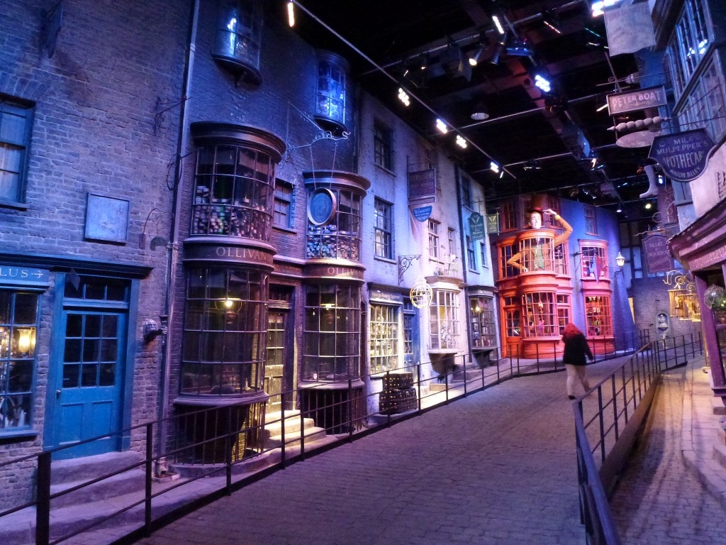 Diagon Alley: Harry Potter Tour Warner Bros Studios Leavesden London by Gary Bembridge, on Flickr