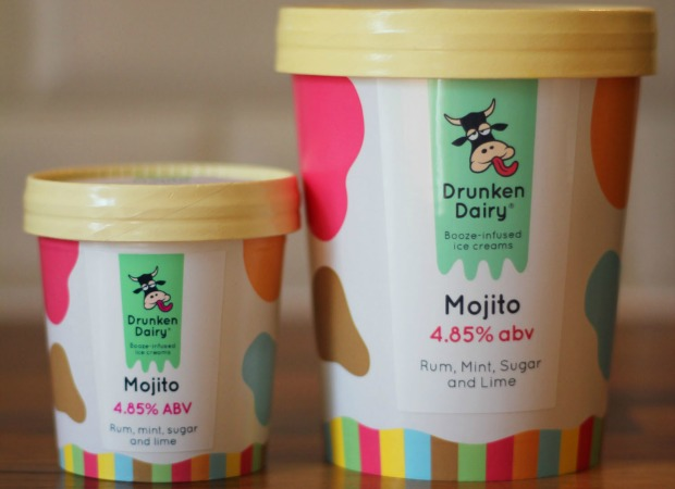 Food.-Alcoholic-ice-creams.-Drunken-Dairy.-Mojito-tubs