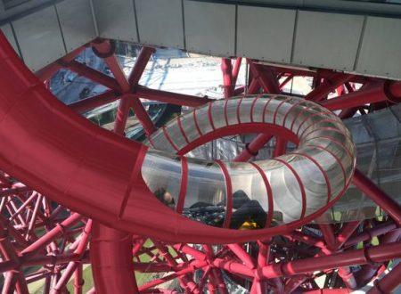 Arriva al Parco Olimpico uno scivolo di 180 metri