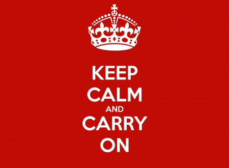 Keep Calm and Carry On: cosa vuol dire veramente?