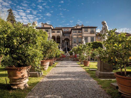Palazzo Pfanner e il giardino di Filippo Juvarra a Lucca