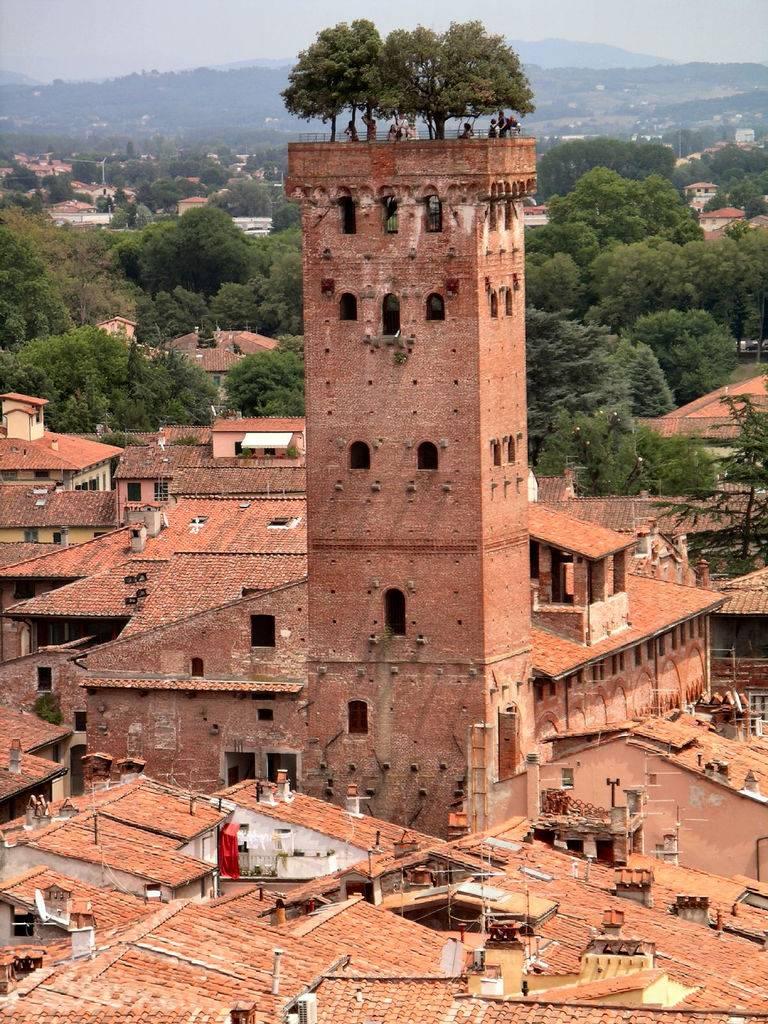 Torre Guinigi Tower Lucca Tuscany Italy 1