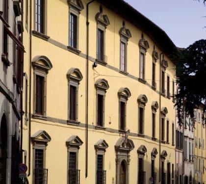 Palazzo Fabroni a Pistoia, da casa-torre a centro espositivo