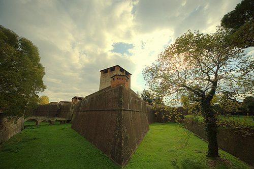 La fortezza Santa Barbara a Pistoia, un salto nel medioevo