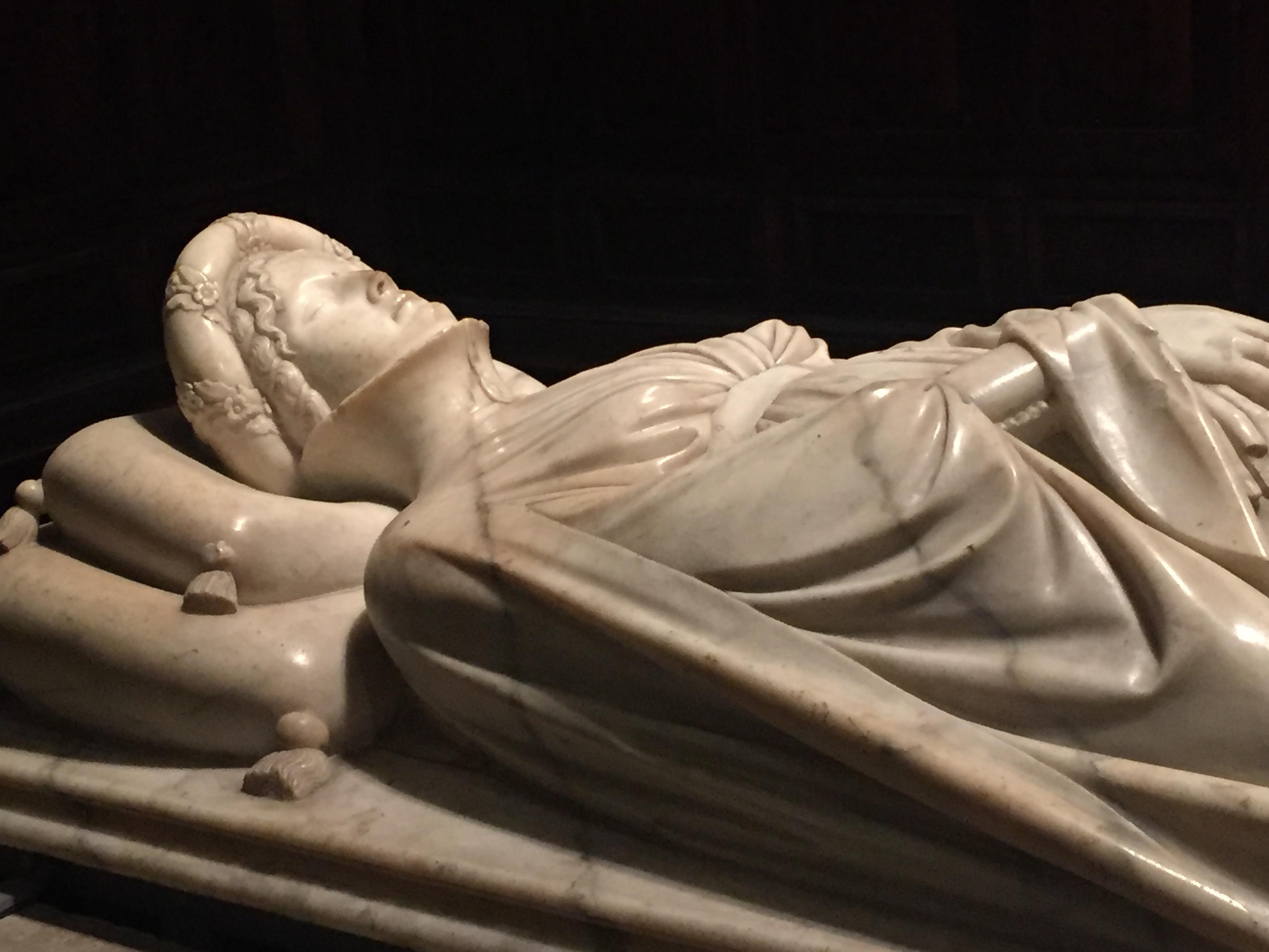 IlariadelCarretto, sarcofago, JacopodellaQuercia