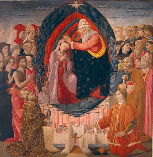 """""""Incoronazione della Vergine"""""""