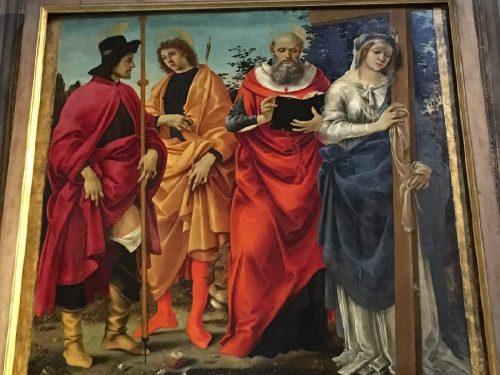 La Pala Magrini di Filippino Lippi a Lucca