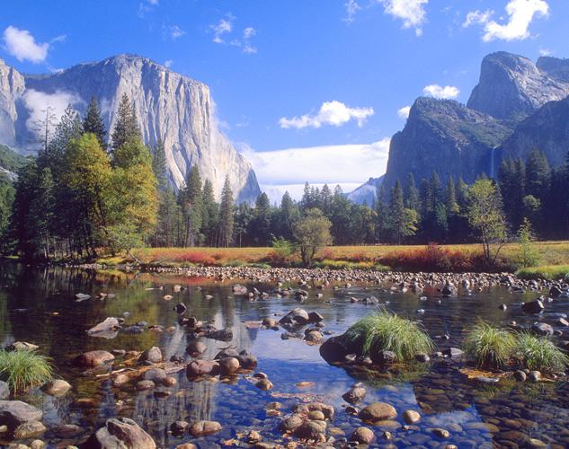 Cartina Yosemite National Park.Yosemite National Park