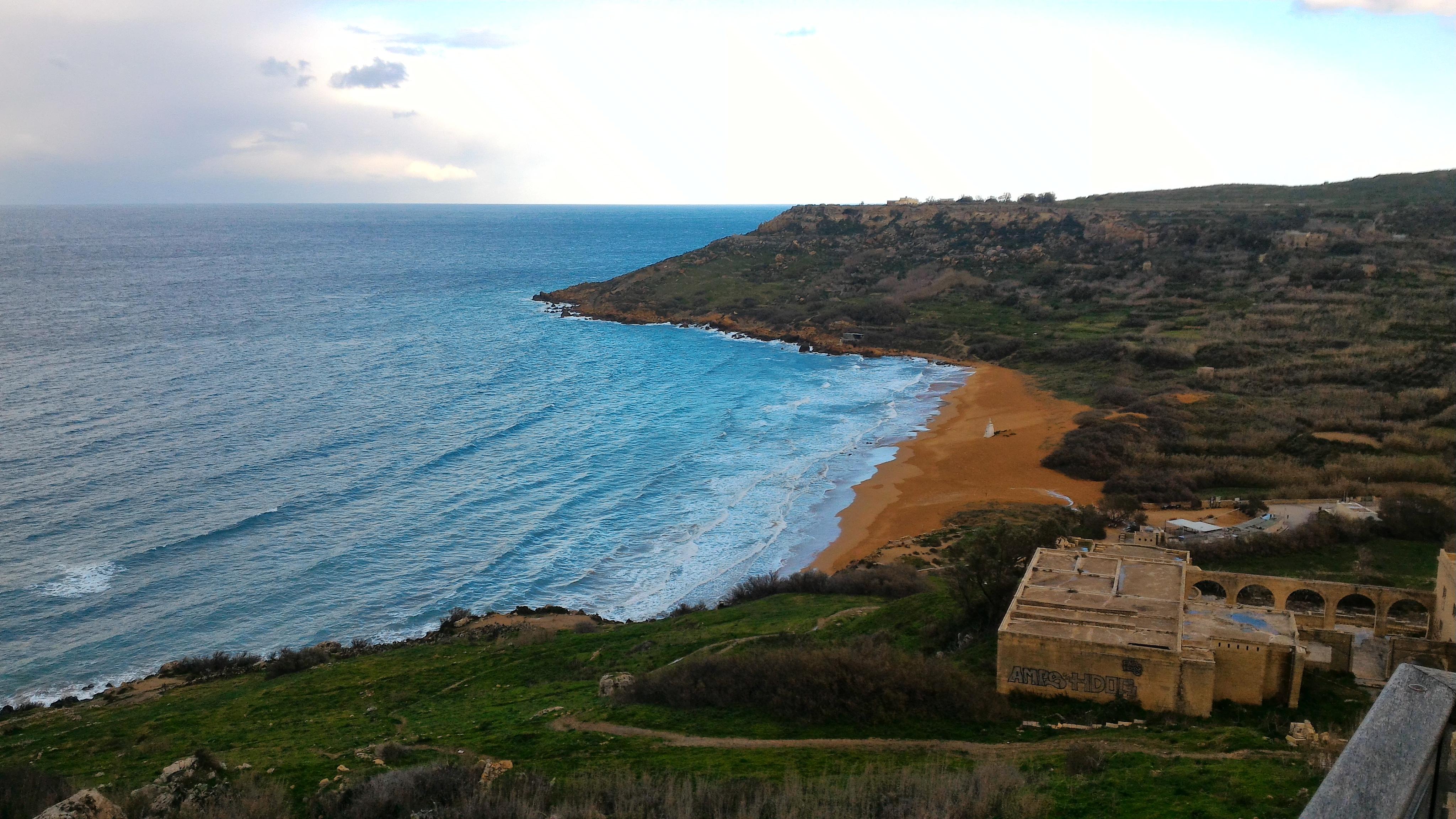 Malta e Gozo in inverno Ramla Bay