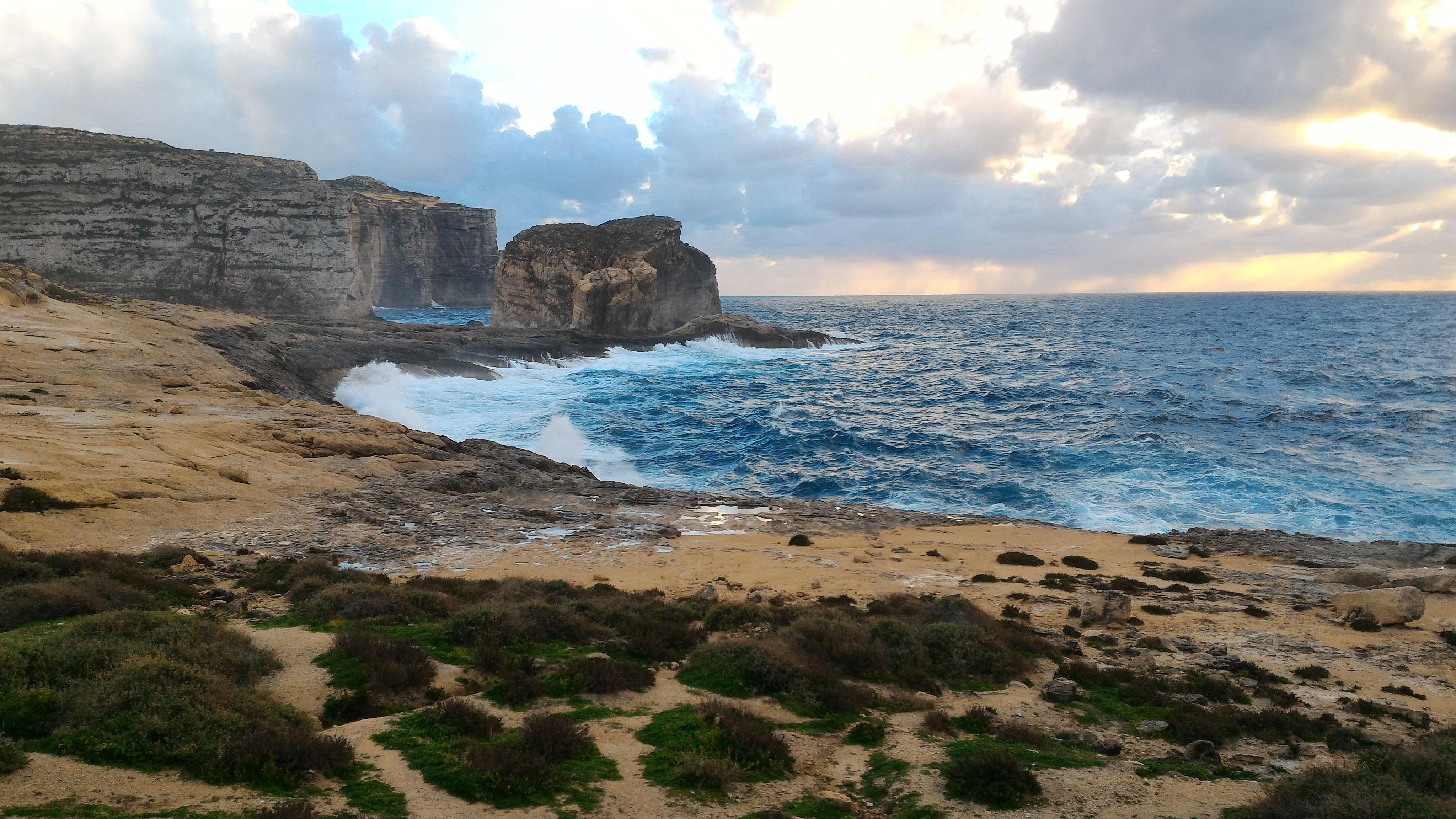 Malta e Gozo in inverno - Gozo, Azure Window area