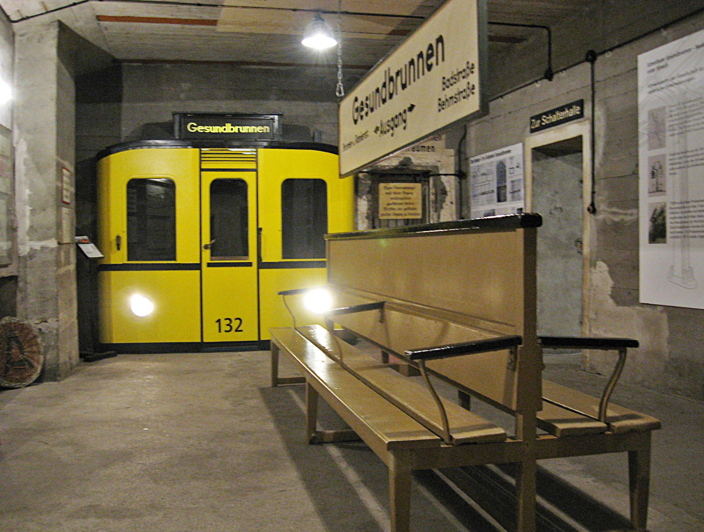 Berlino Sotterranea - Stazione di Gesundbrunnen