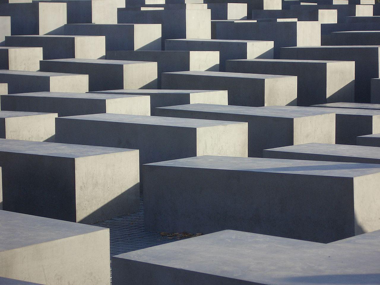 Cosa vedere a Berlino - Memoriale per gli ebrei assassinati d'Europa