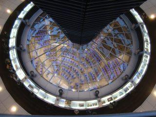 Cupola del Reichstag - Vista sul Parlamento