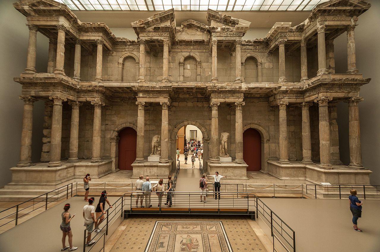 Il pergamon museum di berlino moleskine backpackers - Porta di mileto ...
