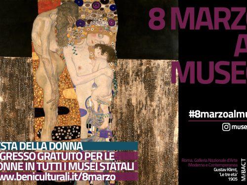 8 marzo al museo: musei statali gratis per le donne