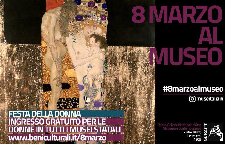 8 marzo al museo Klimt le tre età