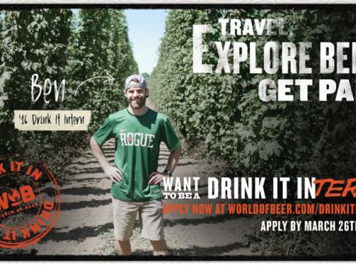 World of Beer: Viaggiare bevendo birra ed esser pagati per farlo!