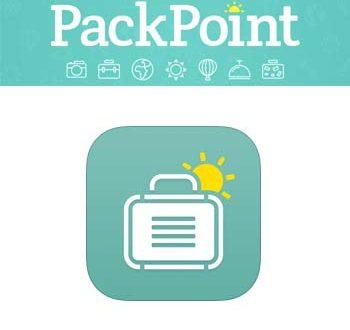 Packpoint: l'App che ti ricorda cosa mettere in valigia