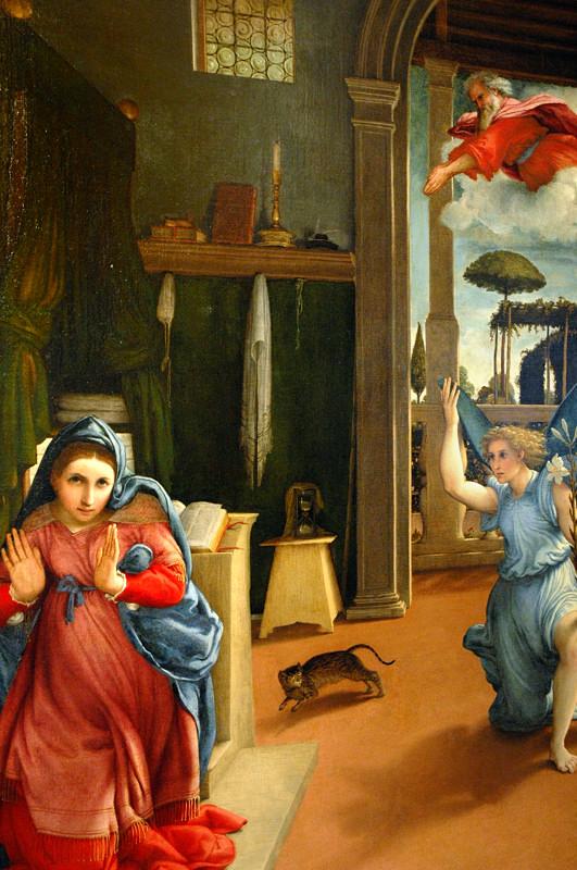 Lorenzo Lotto - Annunciazione - Recanati 800