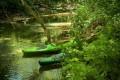 Fiume Cavata in canoa