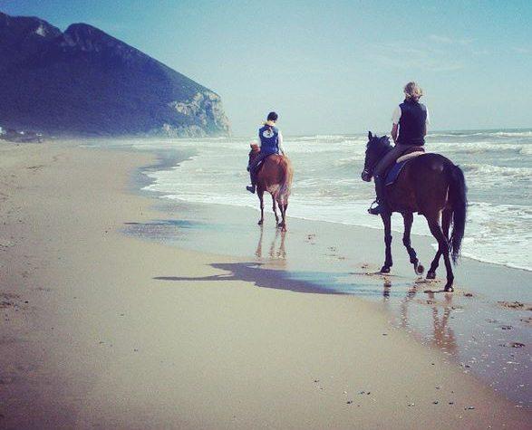 Escursioni a cavallo al Circeo