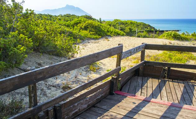 spiaggia bufalara come raggiungere