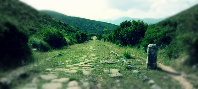 La Via Appia Antica a Itri