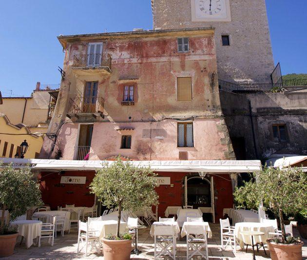 Il centro storico di San Felice Circeo