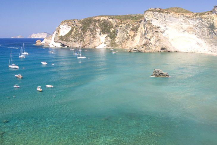 Il mare e le spiagge più belle di Ponza