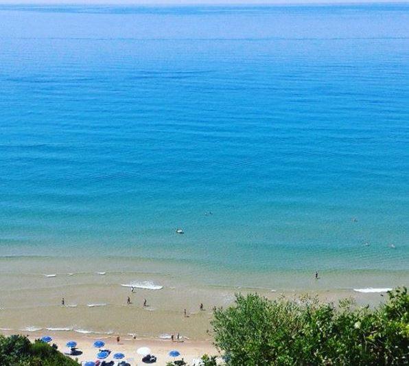 Spiaggia dei 300 Gradini a Gaeta
