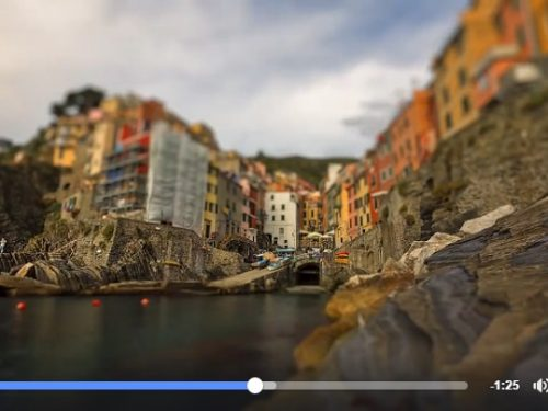 Liguria raccontata in time-lapse e tilt-shift