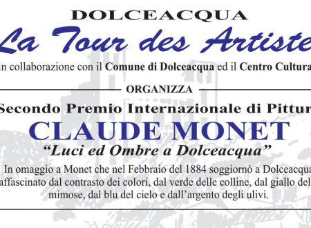 """Secondo Premio Internazionale di Pittura CLAUDE MONET.""""Luci ed Ombre a Dolceacqua"""""""