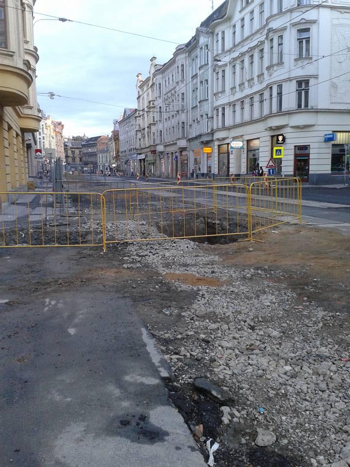 Ostrava- strada- centro