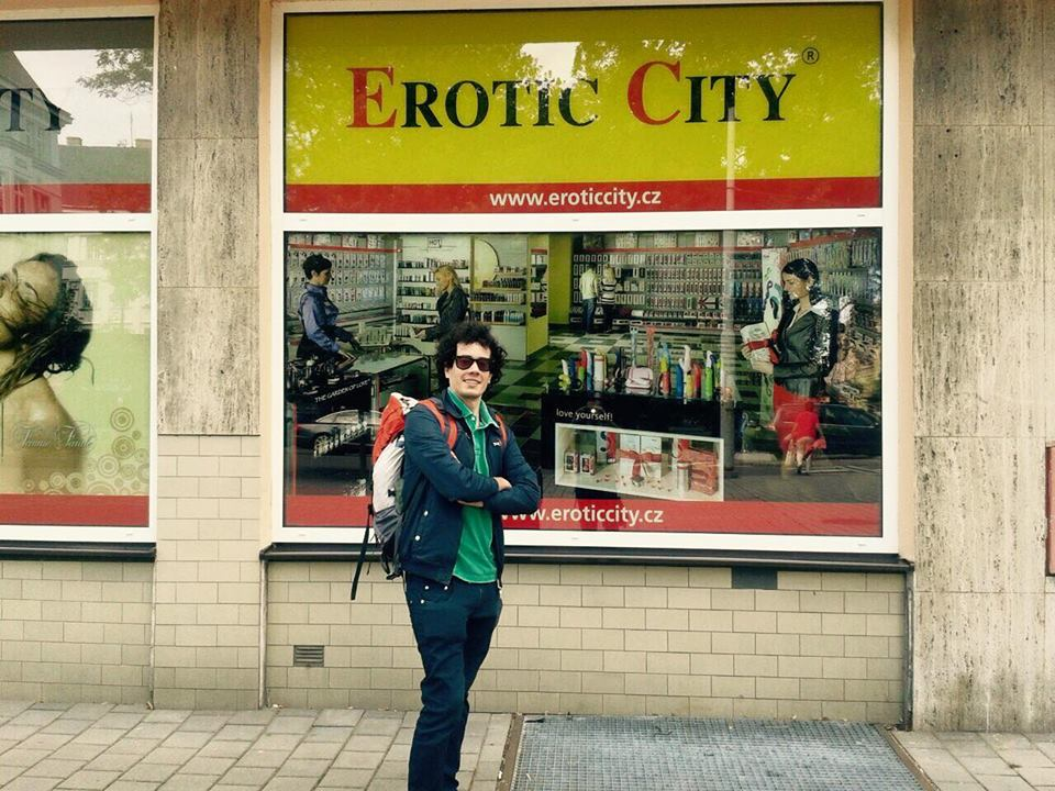 Ostrava- sexy shop vetrina