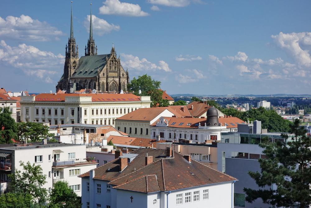 Brno cattedrale dei santi Pietro e Paolo