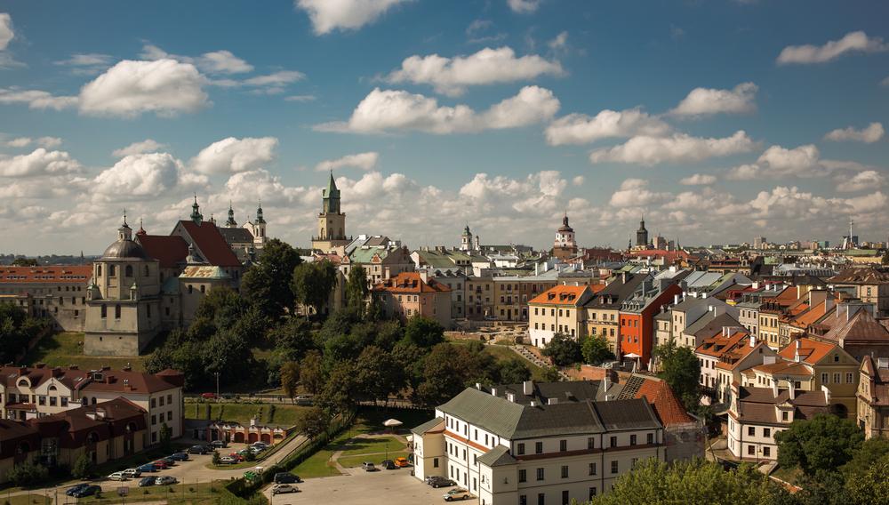 Lublino- centro - veduta