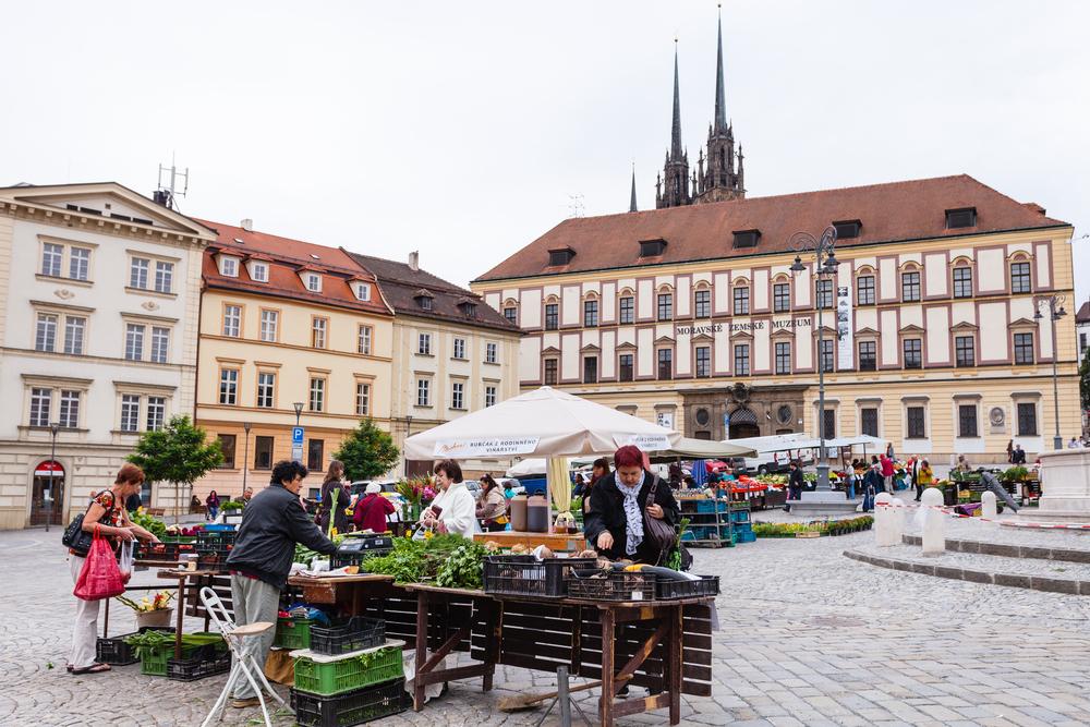 Brno mercato settimanale