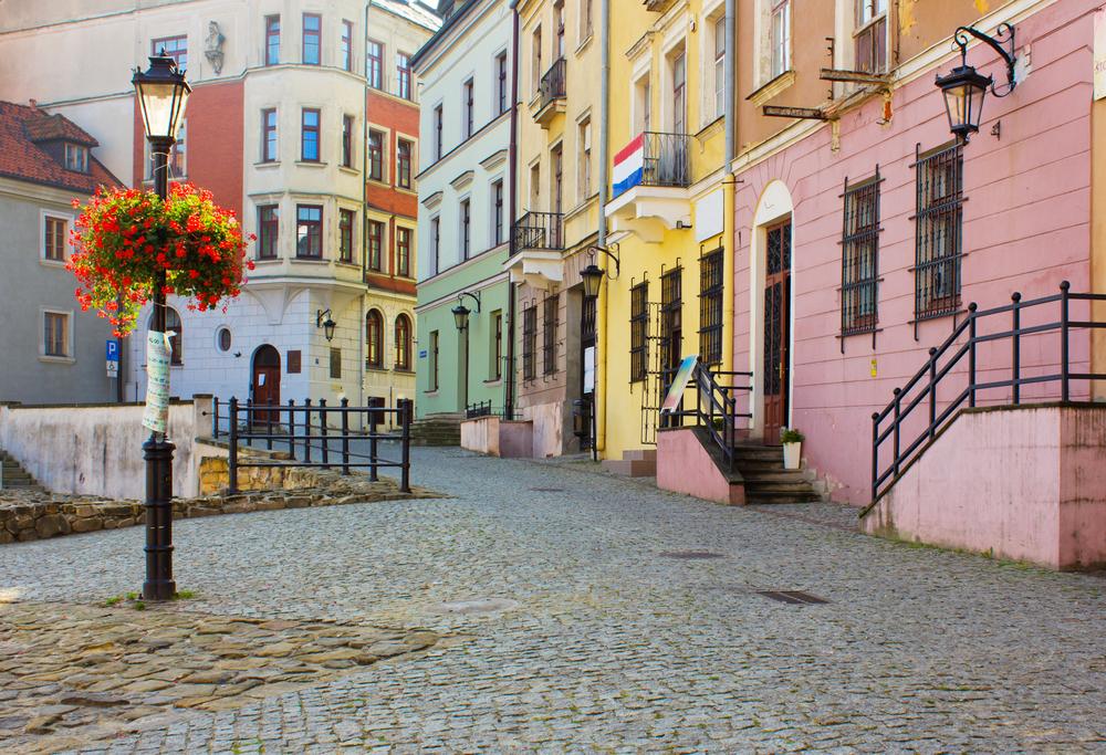 Lublino - vie del - centro