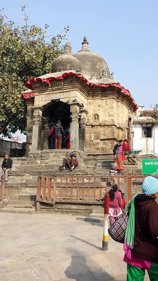 Kathmandu- Nepal- tempio