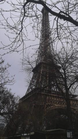 Torre Eiffel - inverno- Parigi
