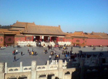 Visitando un Pechino la Cina