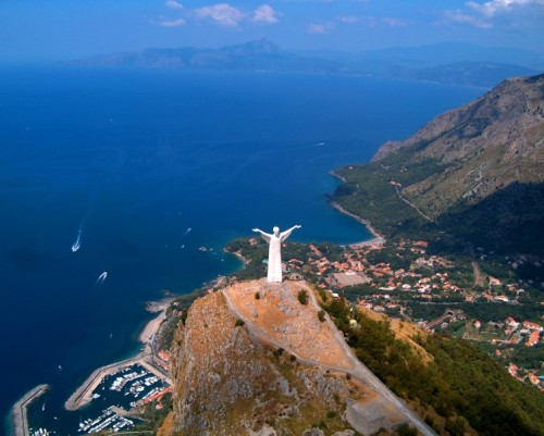 Maratea-Cristo Redentore-panorama