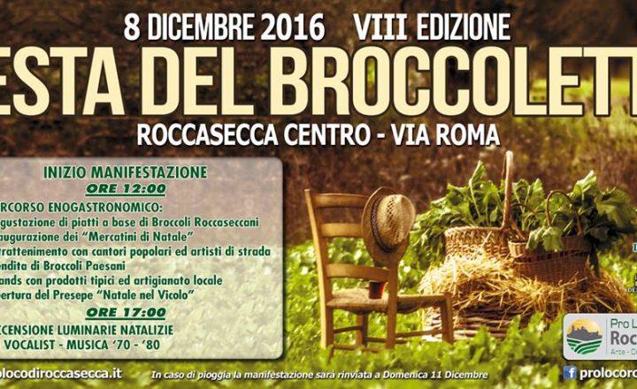 La Festa del Broccoletto 2016 a Roccasecca (Fr)