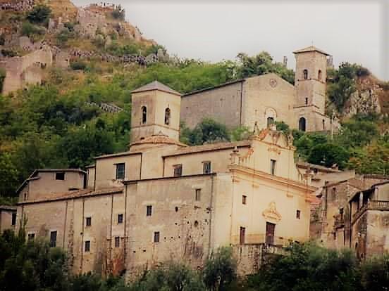 Roccasecca- castello- d'Aquino- chiesa -San Tommaso