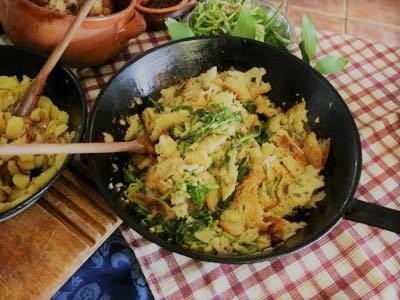 Frionza- broccoletto Roccasecca- piatto