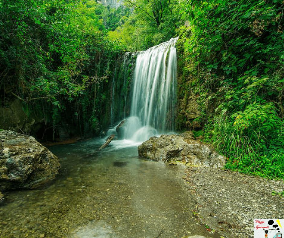 cascata Valle delle Ferriere