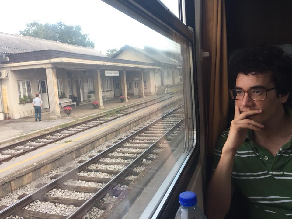 viaggio in treno Lubiana Bled